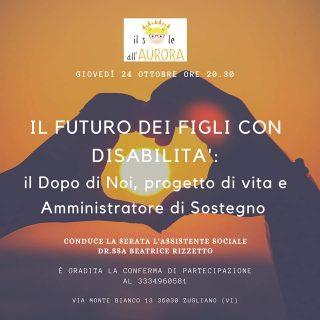 Il futuro dei figli con Disabilità